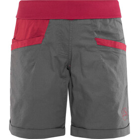 La Sportiva Ramp Shorts Dame carbon/berry